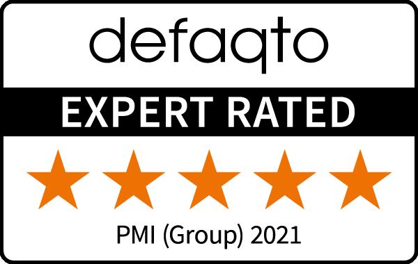 Defaqto 5-star rating for Group Private Medical Insurance, 2020