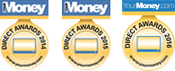 Best Online Healthcare Provider Award from Your Money